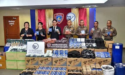 Police seize illegal mosquito repellents and fake nutritional supplements | The Thaiger
