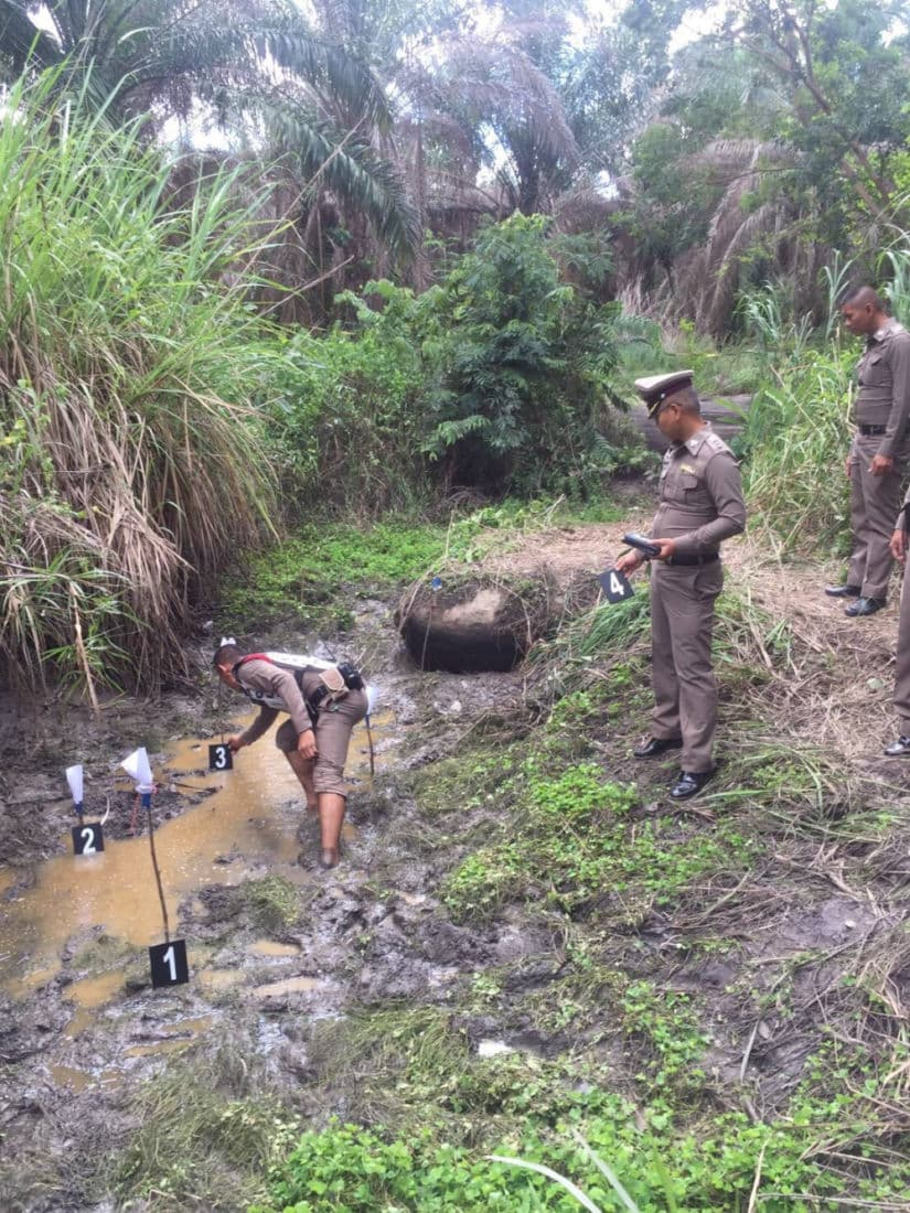 Sixteen AK-47 rifles found in north-east Thailand water well | News by The Thaiger