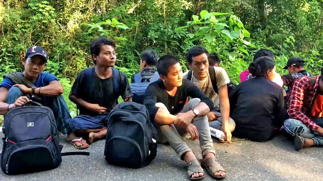 Eighteen Burmese illegal migrants found in a Songkhla camp, Thailand | News by The Thaiger