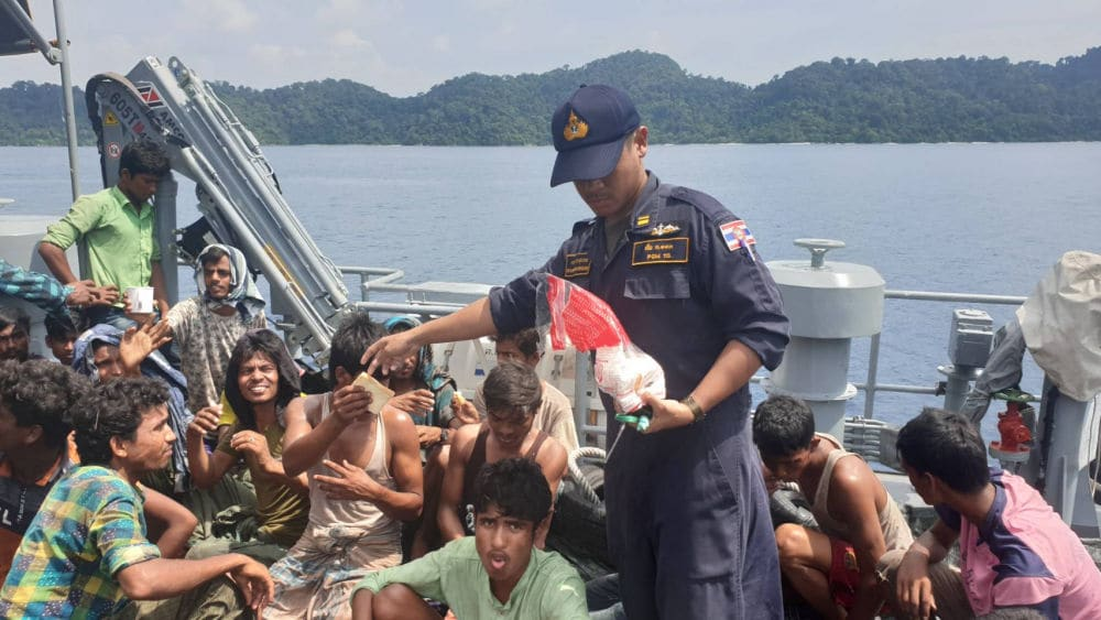Thai boat captain says he was paid 100,000 baht to ferry Rohingya to Malaysia | News by Thaiger