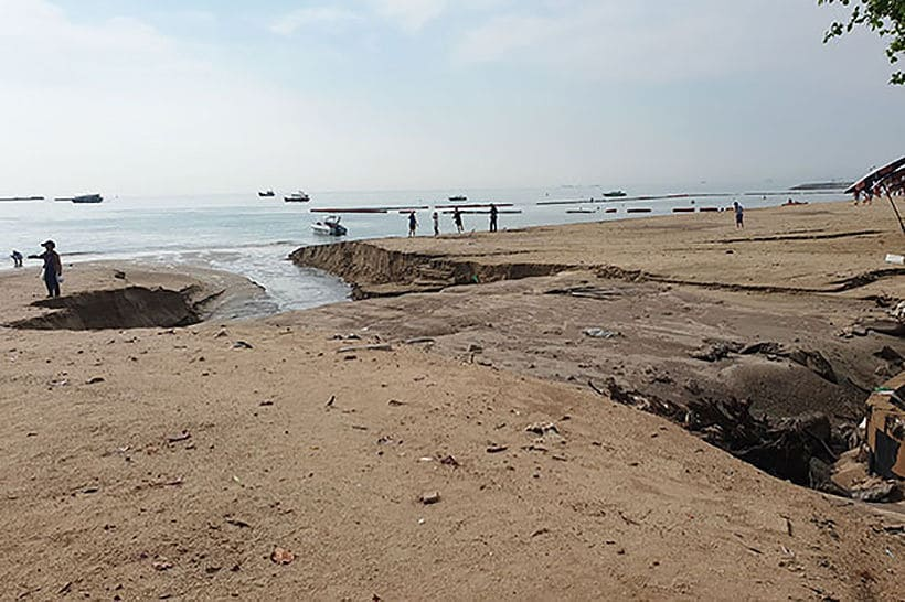 Reconstructed Pattaya Beach officially opened | News by The Thaiger