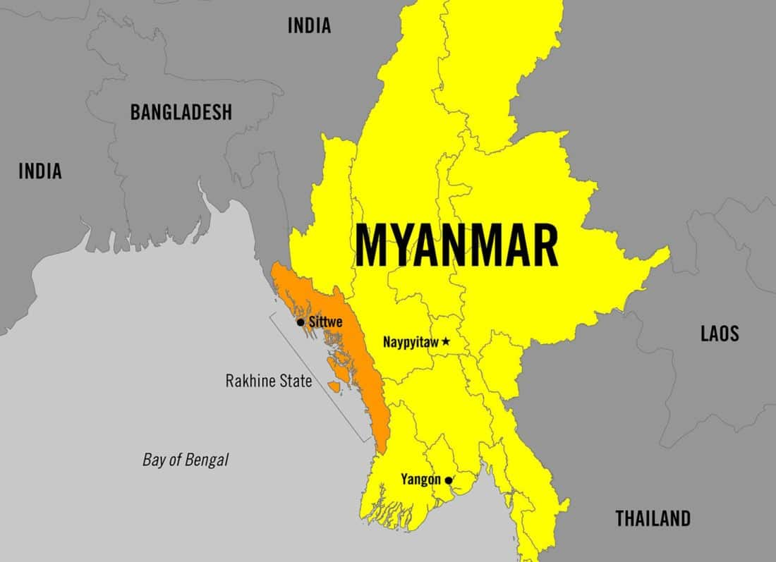 Myanmar government turns off telecoms in Rhakine State | News by The Thaiger