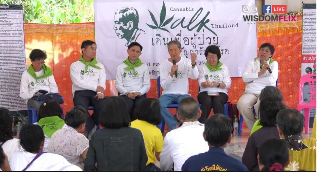 Cannabis Walk Thailand 2019 says progress made but challenges ahead | The Thaiger