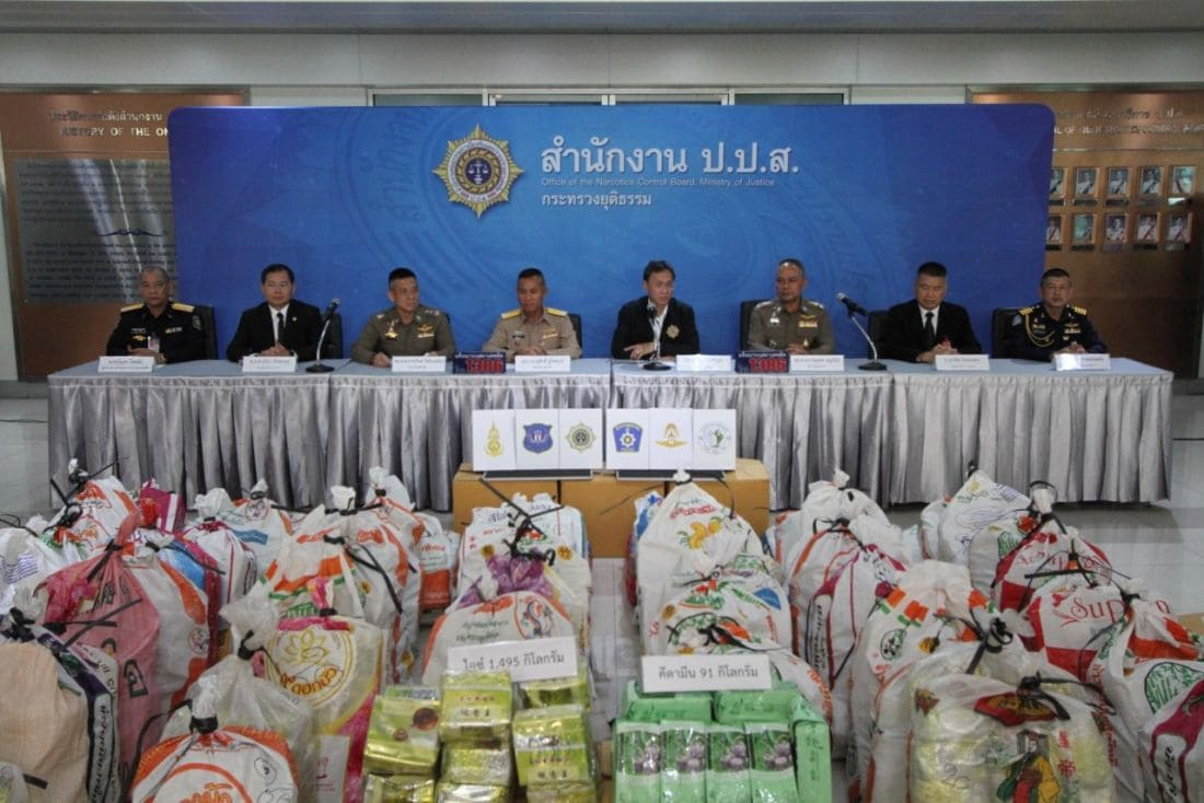 1,495 kilograms of ice seized in Pathum Thani, Thailand | News by Thaiger