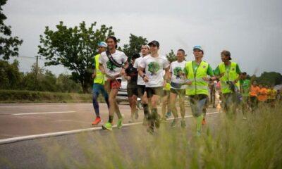 'ตูน บอดี้สแลม' วิ่งก้าวคนละก้าว2 ถึงขอนแก่น ยอดบริจาคกว่า 32 ล้านบาท | The Thaiger