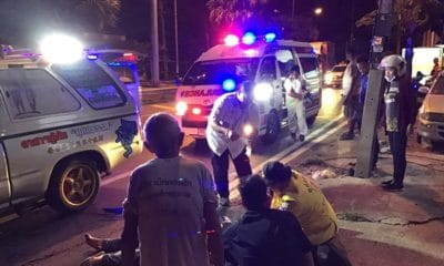 Motorbike driver seriously injured in truck hit and run in Thalang, Phuket | The Thaiger