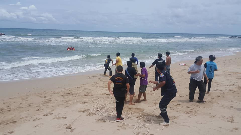 Russian tourist drowns in red flag swimming zone in Trat | The Thaiger