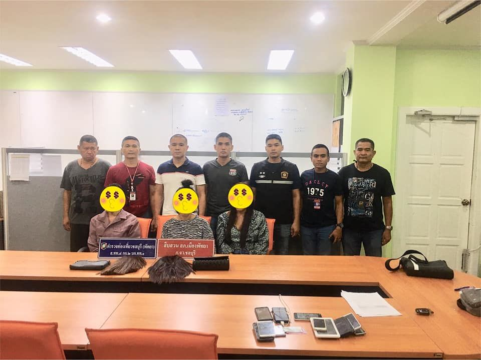 Three ladyboys arrested over thefts from Indian tourists in Pattaya | News by The Thaiger