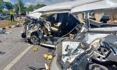 Norwegian man seriously injured after van collides with a truck in Lopburi | The Thaiger