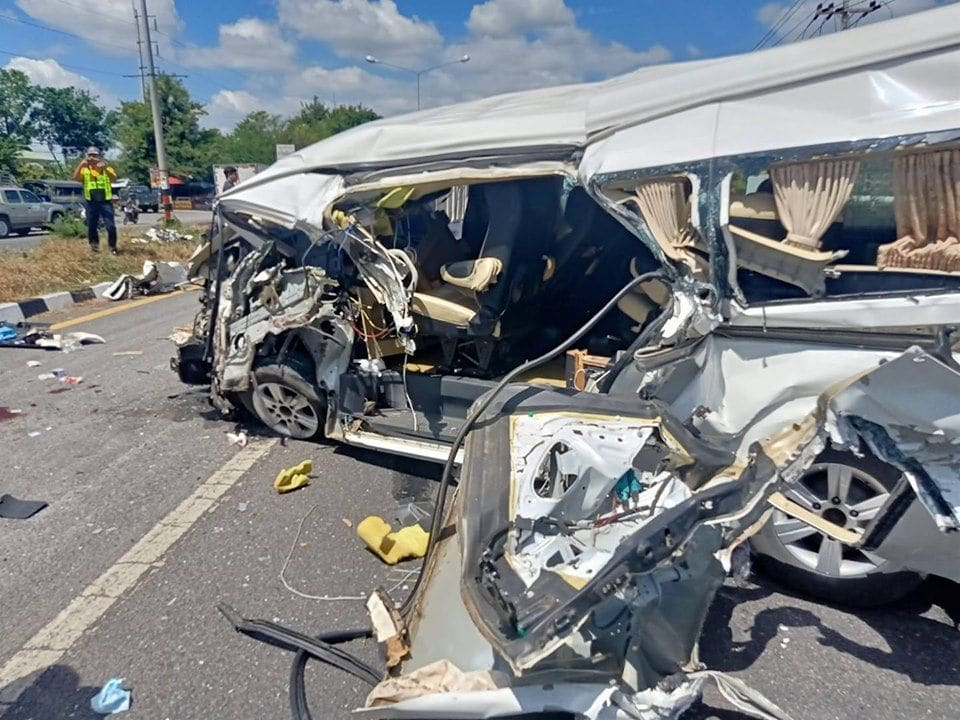 Norwegian man seriously injured after van collides with a