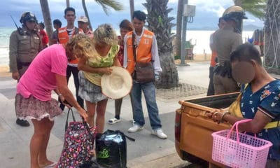 Beach vendor nabbed after stealing from Pattaya tourist | The Thaiger