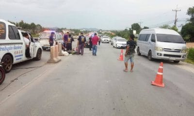 Teenager dies after motorbike collision in Chonburi – VIDEO | The Thaiger