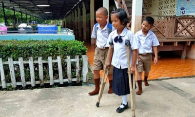 Nattaporn needs you help – nine year old Thai amputee wants a prosthetic leg | The Thaiger