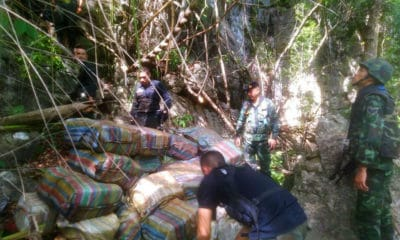 Lost and found: 5.4 million meth pills and 'ice' discovered in Chiang Mai cave | The Thaiger