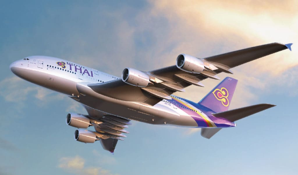 Thai Airways sneaks into Top Ten. Skytrax World's Best Airlines Awards 2019.