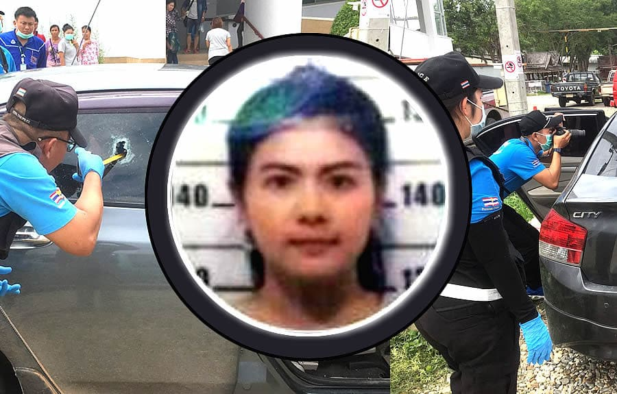 Chiang Rai woman shot in market car park by spurned ex-lover