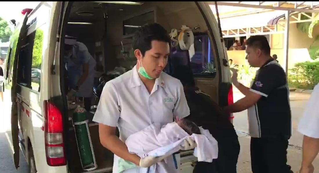 Pregnant Krabi mum can't wait to get to hospital | The Thaiger