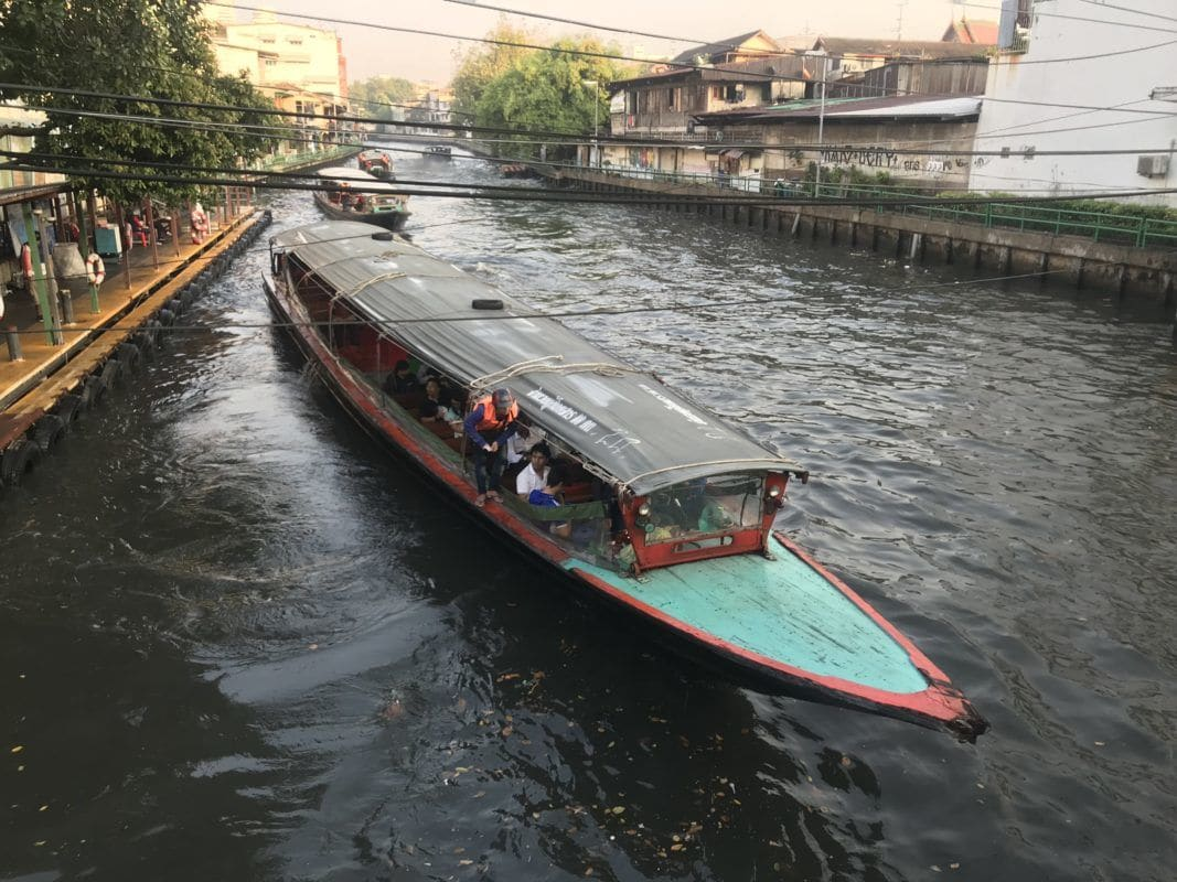 Electric boats will help alleviate some of Bangkok's air pollution | News by The Thaiger