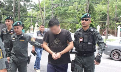 Chinese man arrested over theft and detention of another Chinese citizen in Phuket | The Thaiger