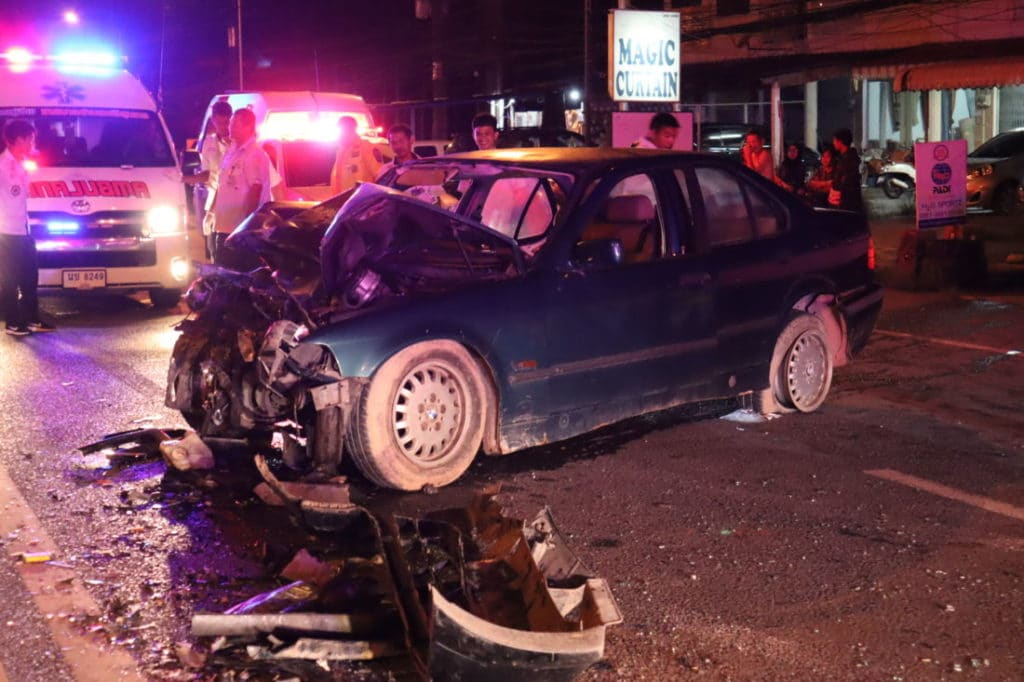 One dead, one injured in Thalang collision, Phuket