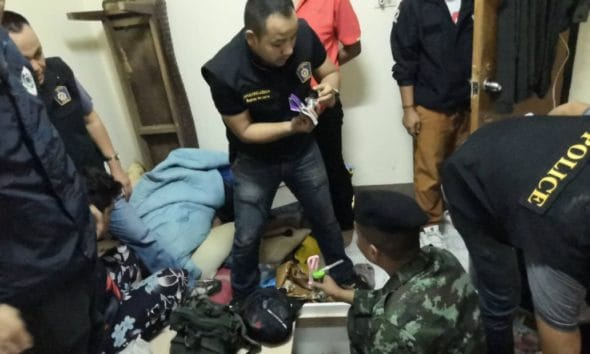 Three arrested with over 12,000 meth pills and crystal meth in Thalang, Phuket   The Thaiger