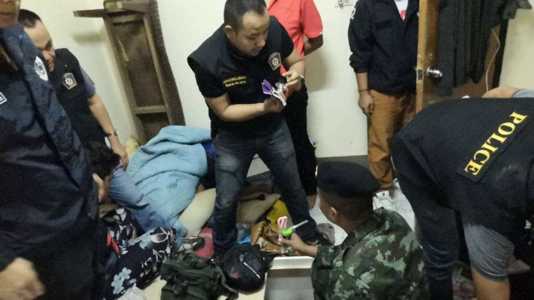 Three arrested with over 12,000 meth pills and crystal meth in Thalang, Phuket | The Thaiger