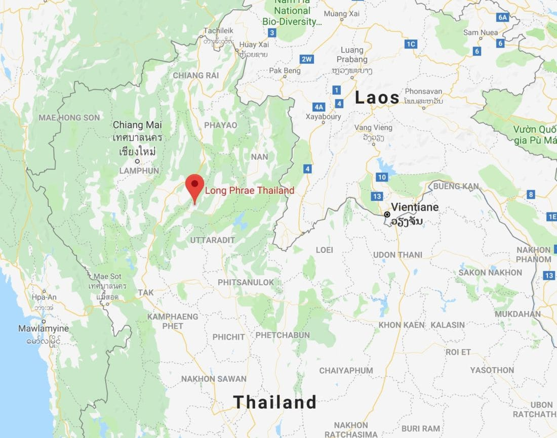 Bus plunges off mountain road in Phrae, Thailand, 17 injured | The Thaiger
