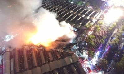 Fire at Bangkok's Chatuchak Weekend Market destroys 30 shops | The Thaiger