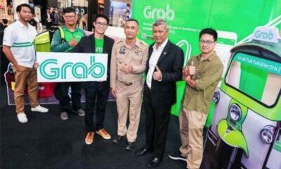 Grab electric tuk tuks launch in Chiang Mai | Thaiger