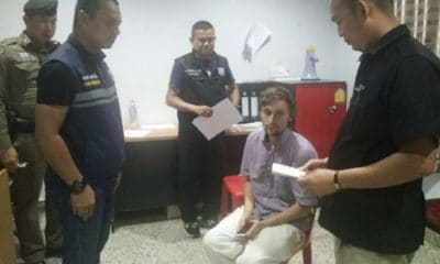 Overstaying Russian tries to change his Thai visa stamp with a pen, badly | The Thaiger