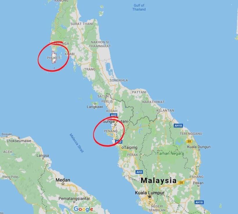Thai island vs Malaysian island - Phuket vs Penang | News by Thaiger