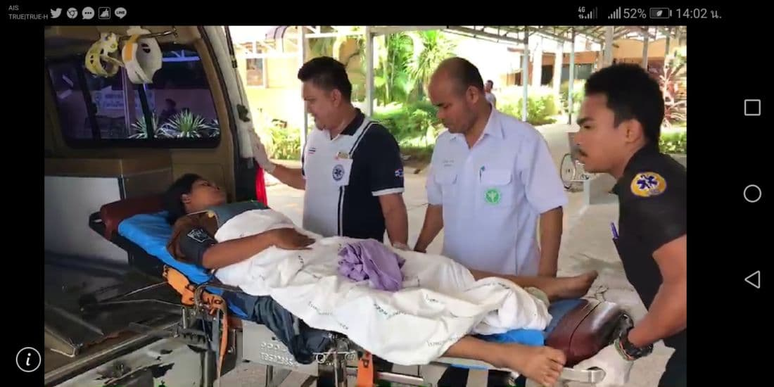 Pregnant Krabi mum can't wait to get to hospital | News by The Thaiger