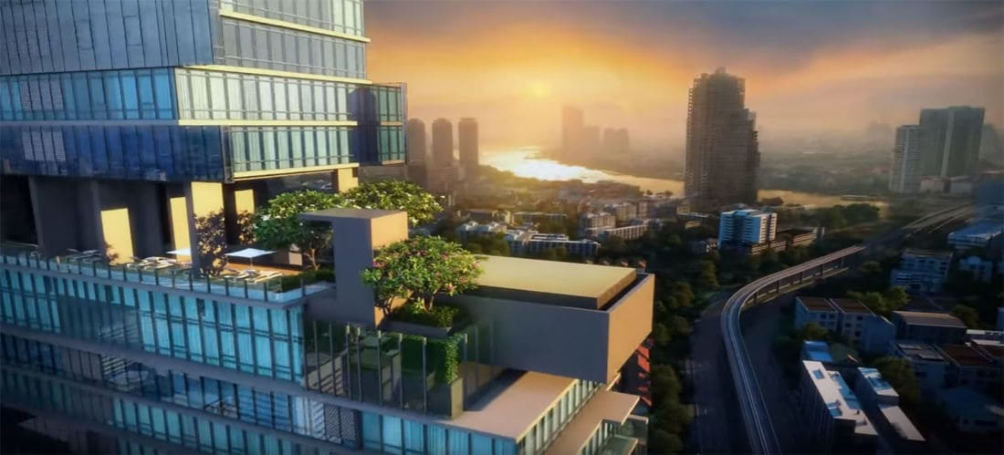 Luxury condos change the face of Sathorn Road in Bangkok | News by The Thaiger