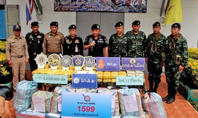 2.2 million meth pills seized in Chiang Rai cross-border interception | The Thaiger