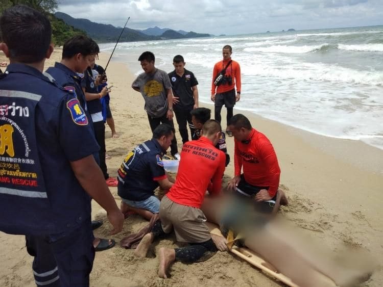 Russian tourist drowns in red flag swimming zone in Trat | News by The Thaiger