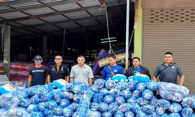 Police raid Khon Kaen factory over Doraemon copyright violation | The Thaiger