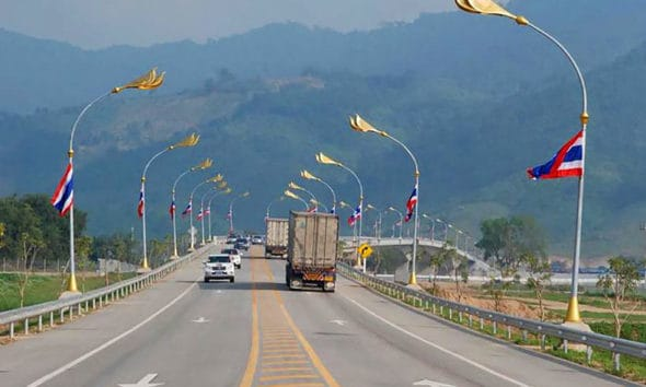 Truck spraying stepped up to prevent swine fever from entering Thailand | The Thaiger