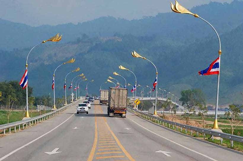 Truck spraying stepped up to prevent swine fever from entering Thailand   The Thaiger