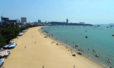 Reconstructed Pattaya Beach officially opened | The Thaiger