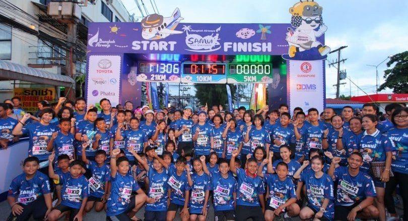 Bangkok Airways Samui Half Marathon, second in the Thailand series | The Thaiger
