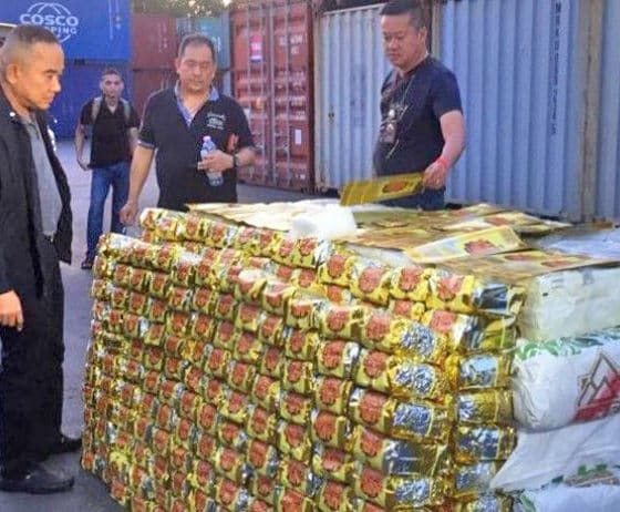 Two Chinese and two Thais arrested over huge 'ice' haul   The Thaiger