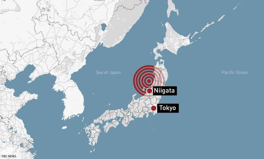 Earthquake rattles northwest Japan, triggers small tsunami