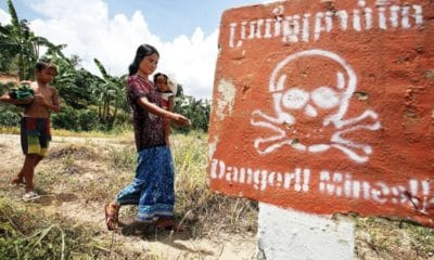 Thai Army assists with removal of Cambodian border mines | The Thaiger