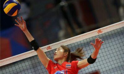 บล็อกอลังการ เนเธอแลนด์สยบไทย 'วอลเลย์บอล เนชั่นส์ ลีก 2019' | The Thaiger