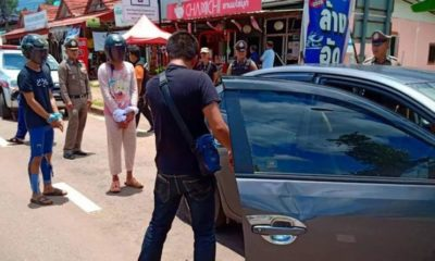 Four teenagers arrested for attacking police | The Thaiger