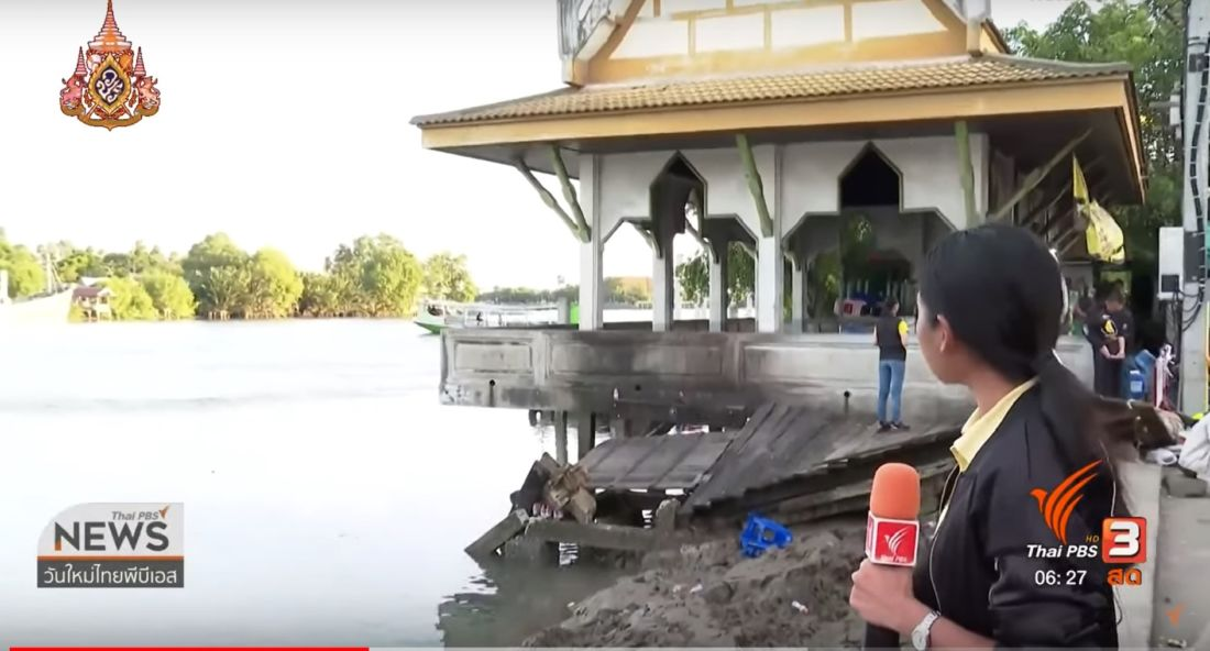 One body recovered, search continues for another after collapse of pavilion in Samut Songkhram | News by Thaiger