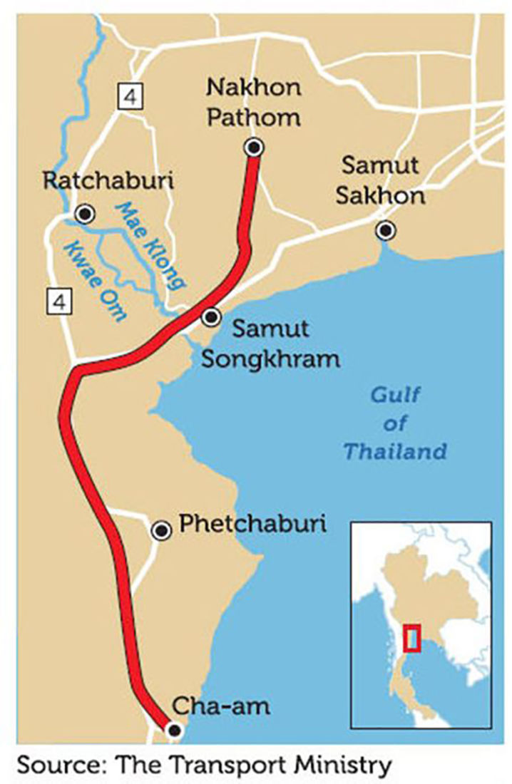 Thai farmers and residents from four provinces unhappy about proposed motorway | News by Thaiger