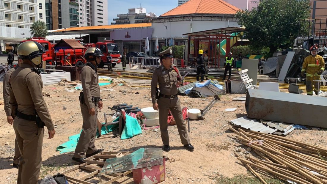 Old pub goes up in smoke this morning in Pattaya | News by Thaiger