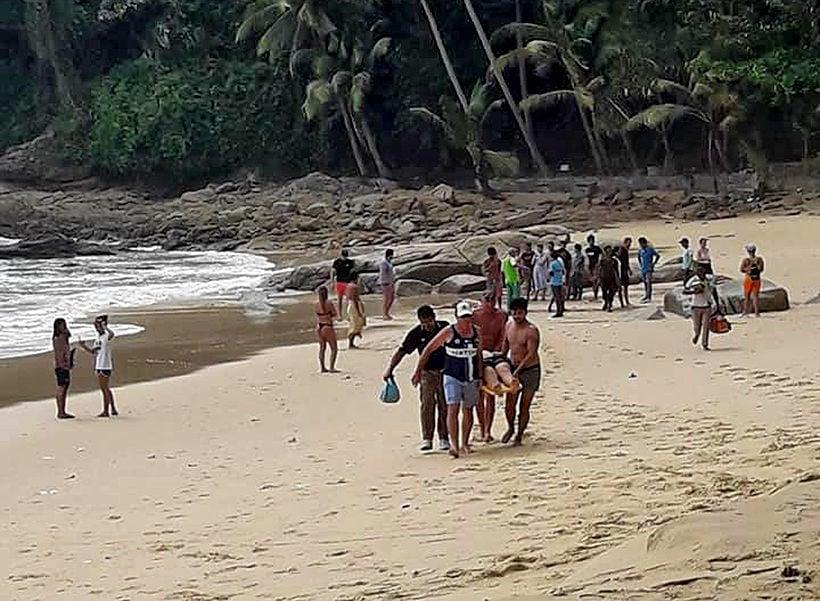 British tourist drowns at Phuket's Surin Beach, son in hospital | The Thaiger