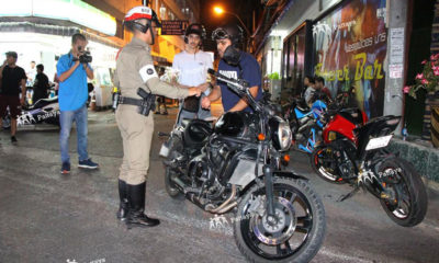 Pattaya police crackdown on middle eastern bike renters | Thaiger